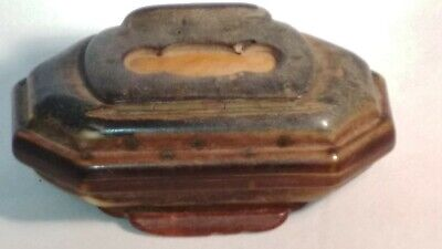 Extremely Rare 19Th Century Double Lidded Snuff Box