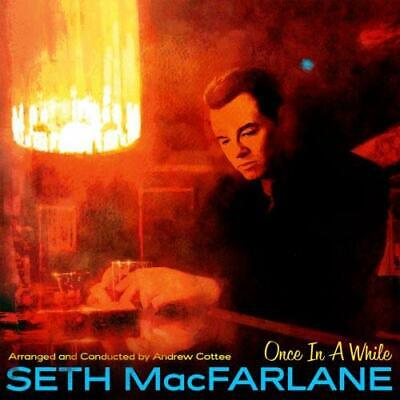Seth MacFarlane Once In A While CD JAZZ REPUBLIC 2019 NEW FREE SHIPPING preorder