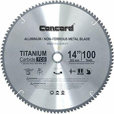 ACB1400T100HP Circular Saw Blades 14-Inch Teeth TCT Non-Ferrous Metal