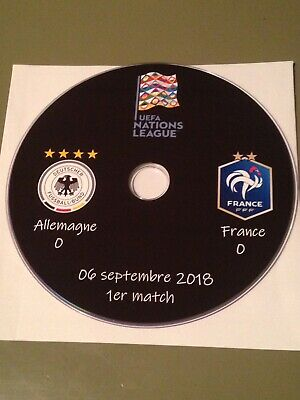 DVD Matchs 2018 Nations League Equipe de France (lire l'annonce)