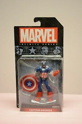 Marvel Infinite Series Captain America 3.75 Action Figure Hasbro Avengers New