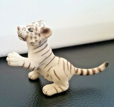Schleich Animal Figures - White Tiger Cub Playing (14385) <2008-2016>
