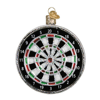 *Dart Board* [44092] Old World Christmas Glass Ornament - NEW