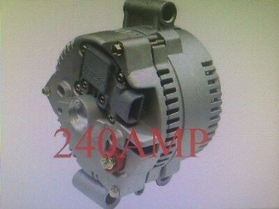 Alternator 240 High Output E-350 Econoline Club Wagon V8 7.3L 445cid Diesel FORD