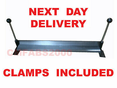 "30"" / 750mm Sheet Metal Folder Bench Mounted Bender Bending Brake *WITH CLAMPS*"