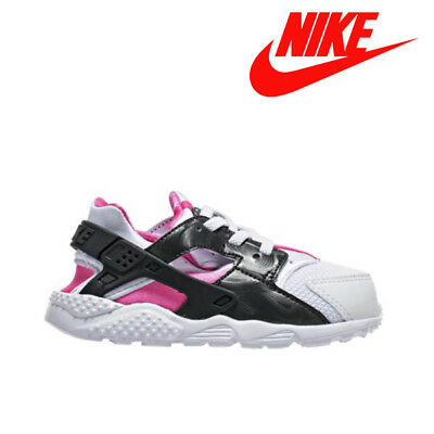 0e82646280a0f Nike Huarache Run Toddler 704952-104 Sale 100% Authentic White Pink