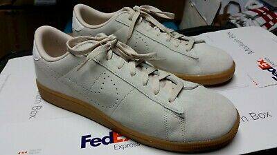 check out bb210 38ff0 Nike Tennis Classic Cs Suede 829351 100 Oatmeal Ivory Men 13