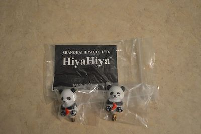 HiyaHiya Interchangeable PANDA Cable Stoppers (Set of 2) for Large Cable