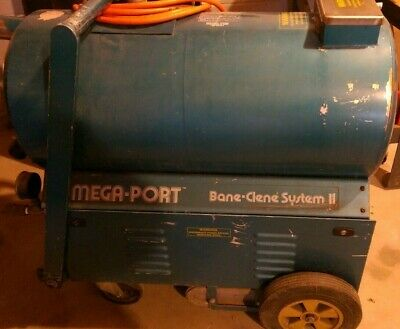Bane Clene Bane-Clene Mega Port Portable Carpet Cleaning Unit and Solutions