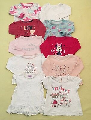 12-18 months girls Summer Tops bundle 10 pice GC F&F,George Early Days