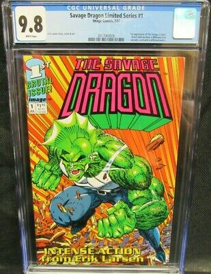 THE SAVAGE DRAGON  Complete Trading Card Set Erik Larsen
