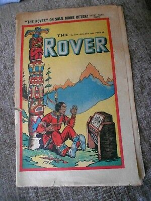 Rare Comic The Rover No. 1149 November 23rd 1946