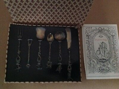Antique Candlelight Silver From Florence Italy