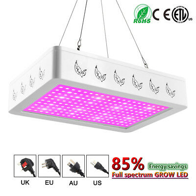 1000W 2000W LED Grow Light Panel Lamp for Hydroponic Plant Growing Full Spectrum