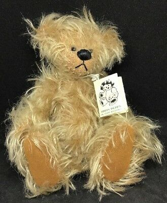 Unique A One & Only Mohair Bear 'Smudge' Hardy Bears By June Kendall (15cm High)