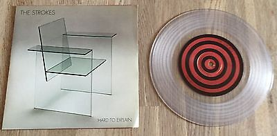 """THE STROKES - Hard To Explain 7"""" LIMITED CLEAR VINYL"""