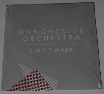 """MANCHESTER ORCHESTRA - Simple Math 7"""" LIMITED VINYL Andy Hull Thrice Dear Hunter"""