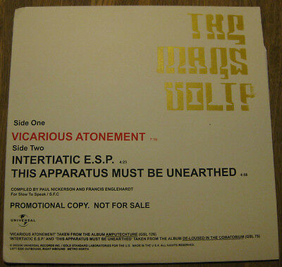 """THE MARS VOLTA - Vicarious Atonement 12"""" *RAR* AT THE DRIVE-IN"""