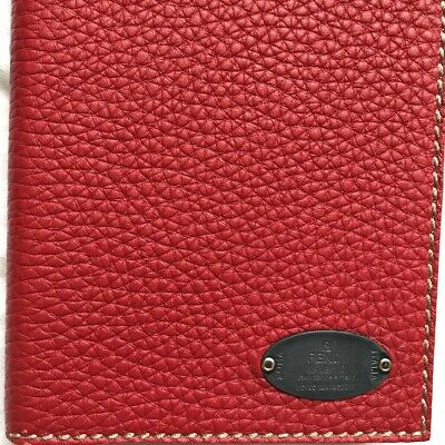 Fendi Notebook Red 100% Authentic