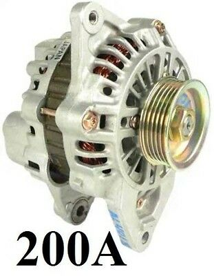 Alternator High Output Dodge Stealth Mitsubishi 3000Gt Sonata 3.0L 200 High Amp