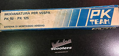 Vespa PK50-125 original PK-Team Panel and mudguard rubbers
