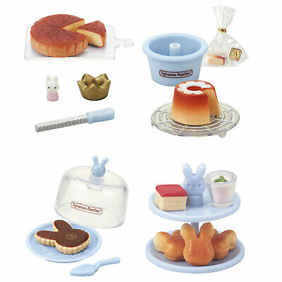 Sylvanian Families Calico Critters Cake Kitchen Food 1 Blind Box Toy