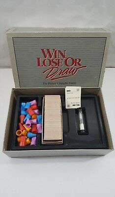 Vintage 1988 Win, Lose or Draw The Picture Charades Game Party Edition~Sealed