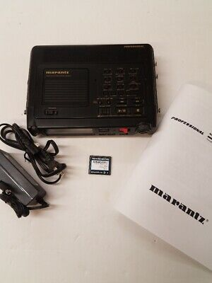 Clean Marantz PMD670 Portable Digital Recorder with Hi-Capacity Card update