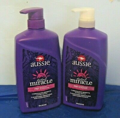 e07a659355e3 2 PACK) AUSSIE CONDITIONER 7-N-1 TOTAL MIRACLE 12.1 Ounce - $14.08 ...