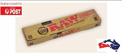 RAW Classic Pre-Rolled King Size Cones x 32- Don't buy Fake RAW papers- Authenti
