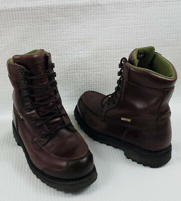eb76c09e7d0 BROWNING GORE-TEX MEN'S Thinsulate work Hunt Brown Leather Boots sz 8M BR  10201