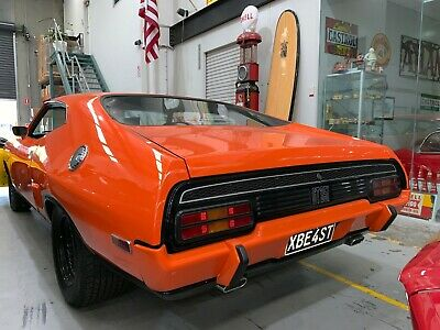"1974 Ford Xb Falcon Coupe Gt Tribute Immaculate For Age 351 V8 C10 Auto 9"" Diff"