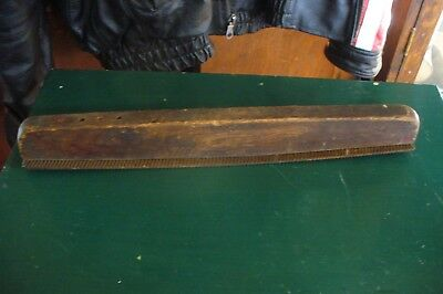 "Antique  Vintage  Auto Body File Rasp Wood Handle 14"" Woodworking Farm Hand Tool"
