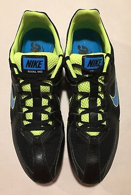 low priced 5bd26 6e7bf Nike Zoom Rival MD 6 Multi Use Track Field Running Shoe 468648-041 Sz 10.5