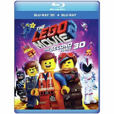 The Lego Movie 2: The Second Part (Blu-ray 3D + Blu-ray + Digital) New!