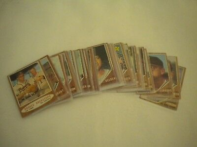 1962 Topps Baseball Card Lot of 40 Different - Nice Starter Lot!! - Excellent