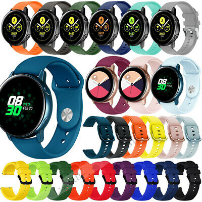 20mm Silicone Watch Band Strap For Amazfit Bip Youth Moto Man's 42mm Ticwatch E