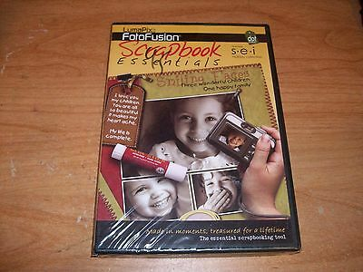 LumaPix FotoFusion Essential Scrapbooking Tool Holiday Collection CD ROM Win XP