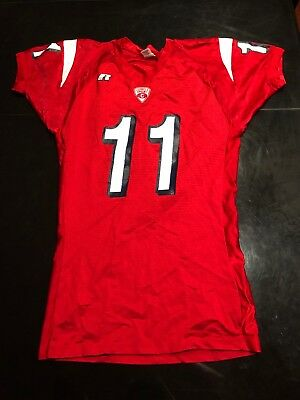 d05dba9e VINTAGE CORNELL BIG Red College Game Used Football Jersey Worn #9 ...