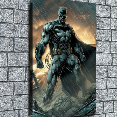 "12""x20"" DC Batman Picture HD Canvas prints Painting Home decor Wall art Photos"