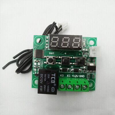 W1209 Digital Thermostat Temperature Control Switch Sensor With Acrylic Shell