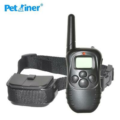 Petrainer 998D-1 300M Remote Control 100LV Shock + Vibra Electric Dog Training C