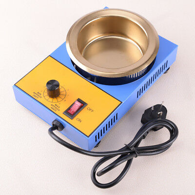 220V 300W 100MM Stainless Steel Tin Solder Soldering Pot Desoldering Bath 1200g
