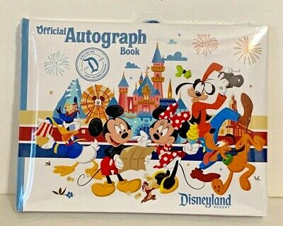 Official Disneyland Resort Autograph Book Mickey Mouse and Friends