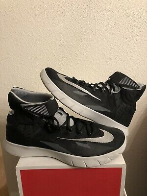 cheap for discount 73ace a609b NIKE Zoom HyperRev KYRIE Basketball Shoes Men s 9.5 EUC Black Silver 630913 -003