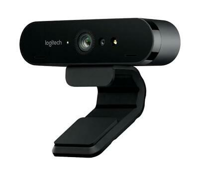 Logitech BRIO Webcam 4K Ultra HD webcam with RightLight with HDR