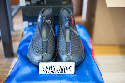98386ed5a5ce26 Ds Nike Air Jordan 15 Size 7.5 Kubo And The Two Strings Charity Auction  Laika