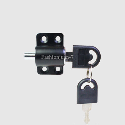 5PCS Sliding Door & Window Locks Children Safety Protect Window Limit Lock Black