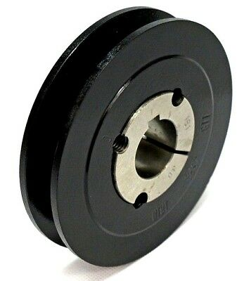 SPA132X1 SPA or A Type Belt 132mm OD Vee Pulley  1 Groove 1610 Taper Bush