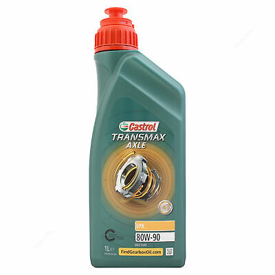 Castrol Axle EPX 80W-90 Gear Oil 80W90 Axle Fluid for specific OEMs 1 Litre 1L